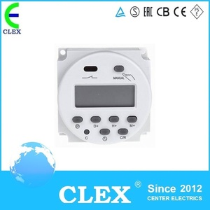 CN101A AC220V 16A Time Switch Relay TIMER CN101 Digital LCD Power weekly Programmable with protective cover