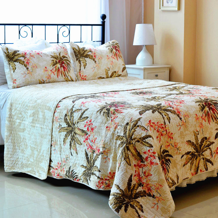 Choose an elegant jacquard set for your California King bed for a regal look, or pair a simple cotton comforter with whimsical kids' bedding to keep your son or daughter happy. No matter which design .