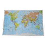 full color printing Dupont Tyvek Map