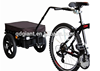 camping bicycle cargo trailer with water proof hood TC2025