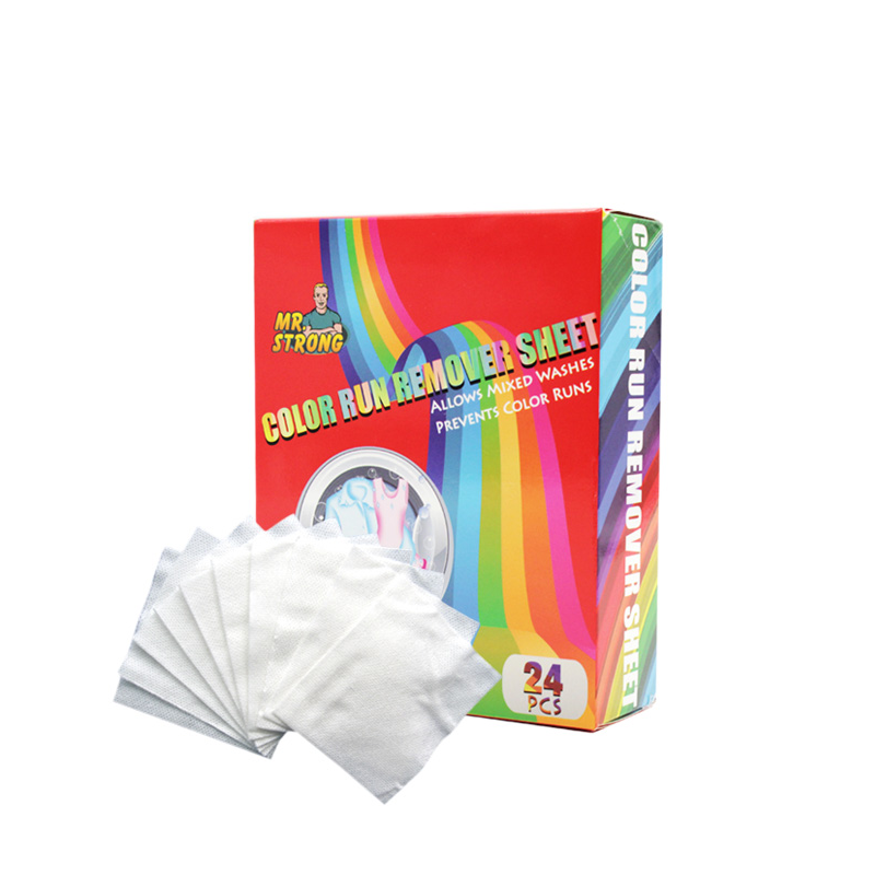 Competitive Color run remover sheets