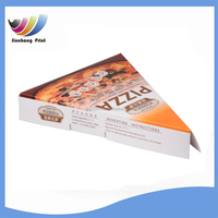 Free sample wholesale printing small triangle pizza slice boxes