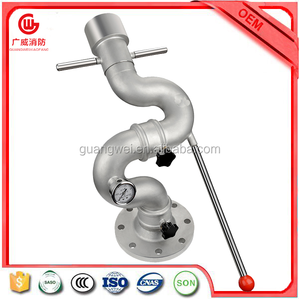 Stainless steel fire water cannon for fire fighting