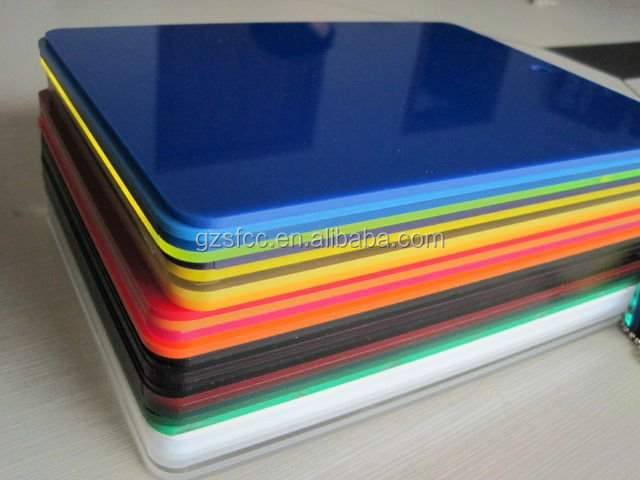 Solid Colored Acrylic Sheet Pmma Extruded Colored Sheets Plastic ...