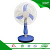 12 volt battery rechargeable fan 16'' china solar emergency fan