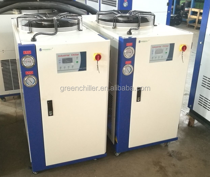 CE high quality Assurance trade 3 ton Industrial Air Cooled Portable chiller