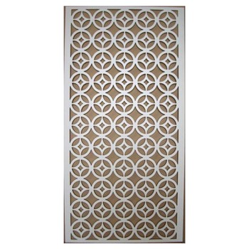 Wall Decoration Wood Panels Mdf Grille Panel For Interior Design Decorative Textured