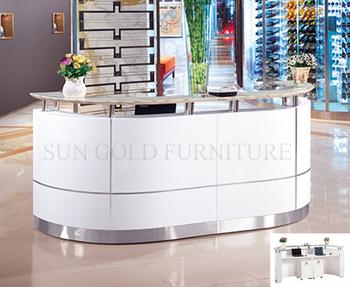 Ufficio Legno Hotel : Legno di lusso hotel curvo bianco ufficio reception reception