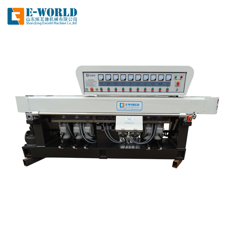 Manufacturer supplier straight line Glass Beveling Edge Polishing Machine