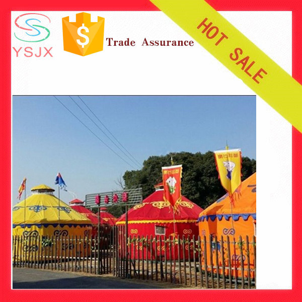 wall insulation steel tubes mongolian yurt 10m tent holiday