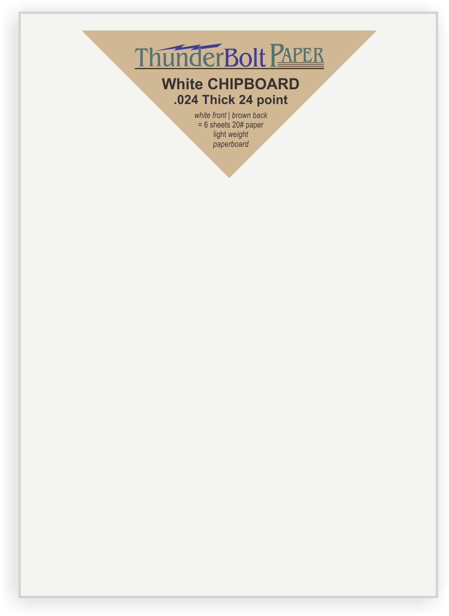 4.25 X 5.5 Inches Light Weight Quarter point Letter Size .024 Caliper Thickness Cardboard Craft Packaging Brown Kraft Paper Board 100 Sheets Chipboard 24pt 1//4