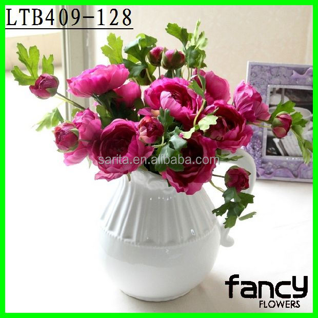 Single stem artificial silk flowers import form china