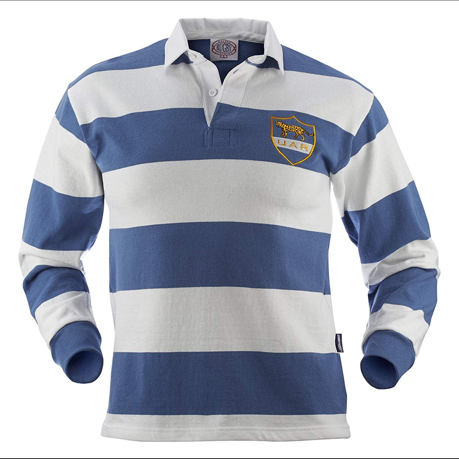 7566740fd58 Get Quotations · Argentina Old Style Rugby Jersey