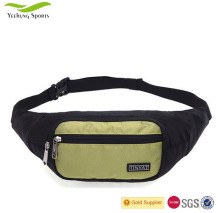 TINYAT Lightweight Waterproof Nylon Men Sports Casual Waist Bag Chest Pack Leather Money and Phone Belt Bag Wholesale