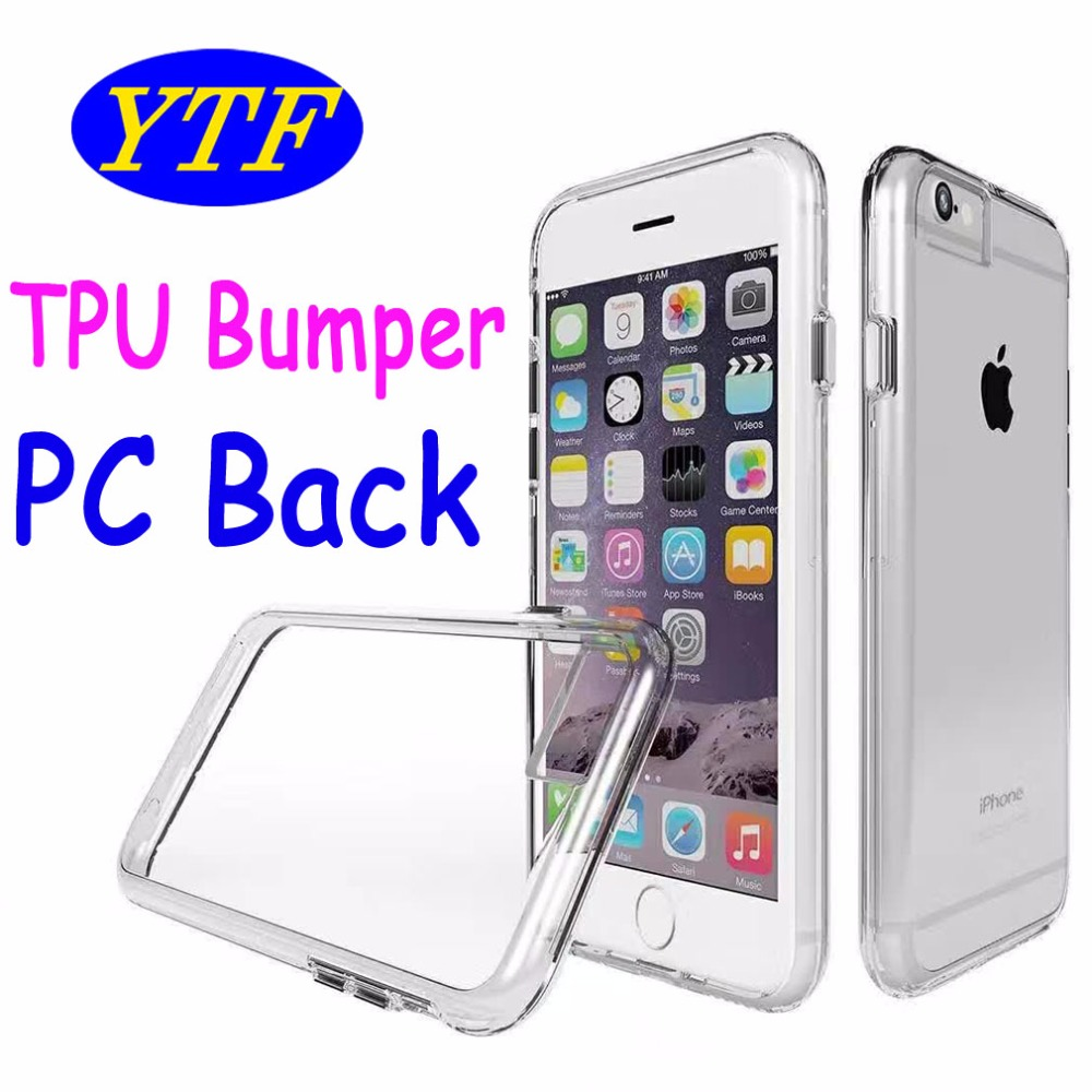 New coming Transparent TPU Bumper + PC Cover case for LG V10