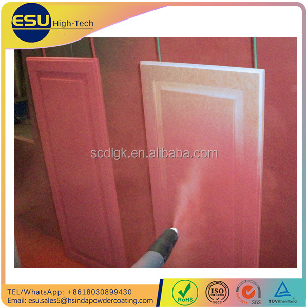 MWIR Machine Low Temperature Curing MDF Powder Coating for mdf furniture