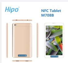 Hipo M708B nfc mtk6582 quad core phone 1280x800 7 inch tablet android