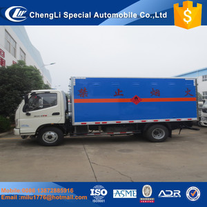 Factory direct sale Foton 4*2 Utility 3-4 Tons Mini Van Cargo Truck