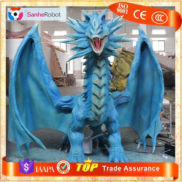 SH-RC030 Customized Outdoor Decor Animatronic Dragon