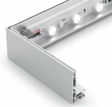 double sided SEG frames and light box,SEG trade show backlit light box displays,