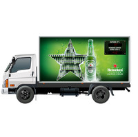Waterproof Out door LED Billboard Truck Mobile Advertising LED Display