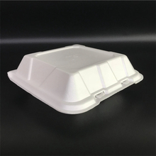Food grade <span class=keywords><strong>Wegwerp</strong></span> Clamshell burger box Polystyreen PS <span class=keywords><strong>schuim</strong></span> voedsel container