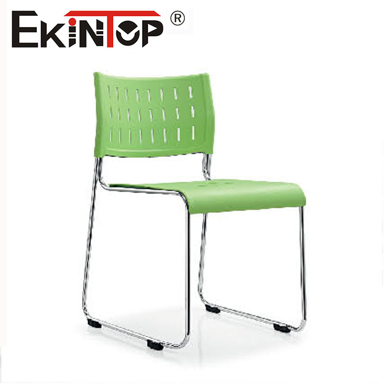 Simple design of durable office fruniture chairs without wheels