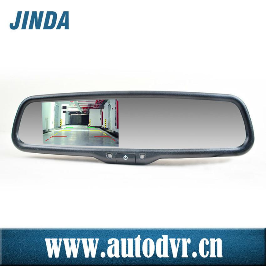 Oem Car Bracket Optional 4.3 Inch Side Mirror With 480*rgb*272 ...