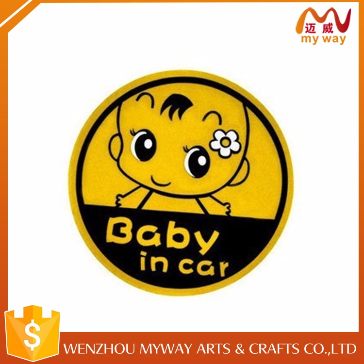 Attractive price new type adhesive foam car sticker