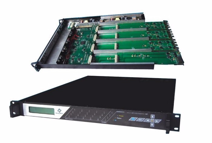 1GbE IP input/output digitale IPTV CATV headend apparatuur