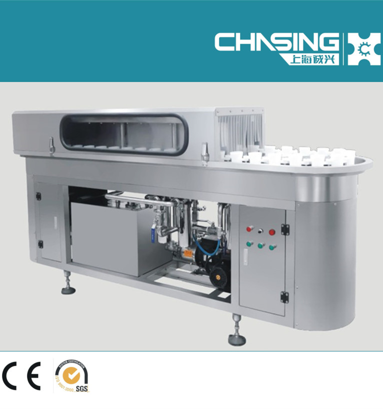 Bottle washer for square bottle plastic bottle