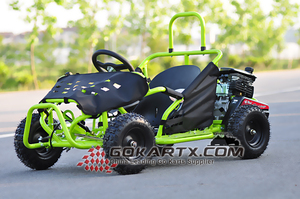 80cc 4 Stroke Gas Powered Kids Go Kart(Cocokart)/go kart racing suits