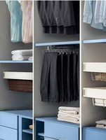 Trousers rack wardrobe hardware clothes rack