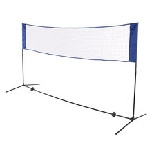 Kesen Tennis Badminton Net System 10ft /16.4ft Indoor Portable Outdoor Sports Volleyball Training Square Mesh Net with Net