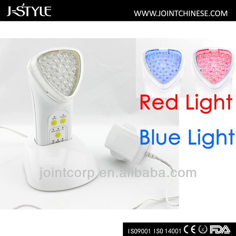J-Style Skin Lift Pore Remove Acne Treatment Face Clean IPL Galvanic Ionic Microcurrent Massager for Universal Nutrition