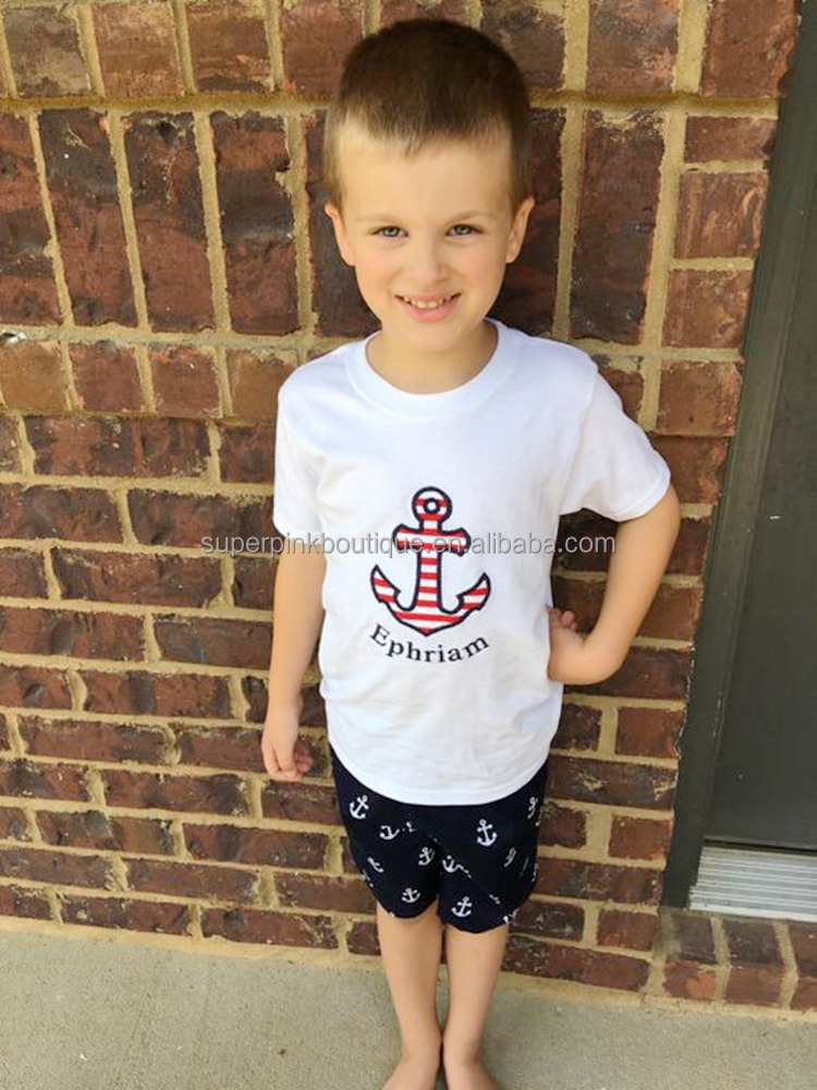 branded kids clothing factory cheap summer boy clothes