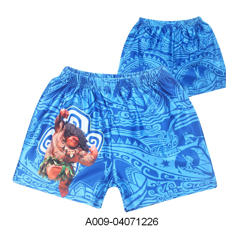 Comfortable breathable quick dry swimming trunks 2018 anime swim trade assurance payment