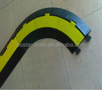 Professional Flexible Floor Cable Covers For Valuable Electrical Cable  Protection