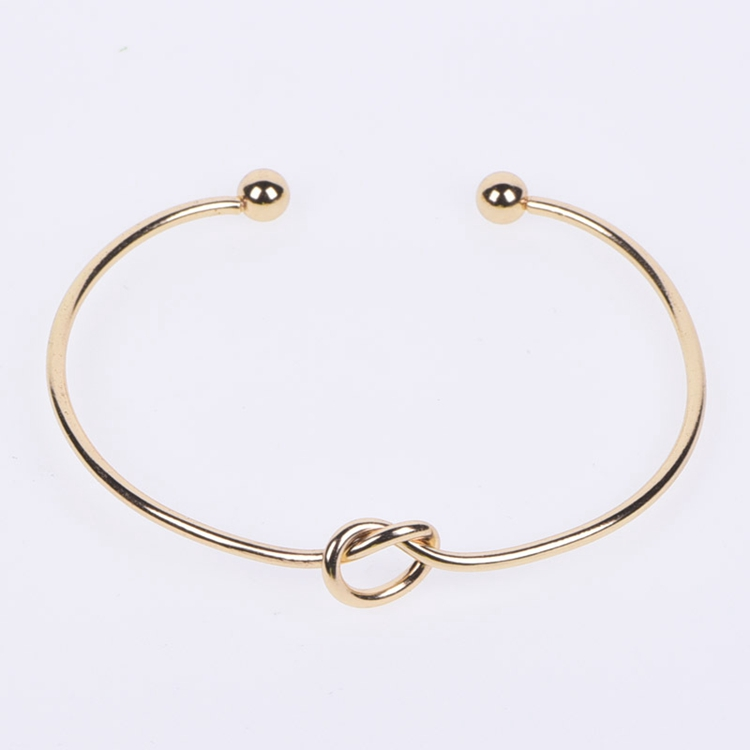 2018 Stainless Steel Silver Bangle Bracelet Women Jewelry
