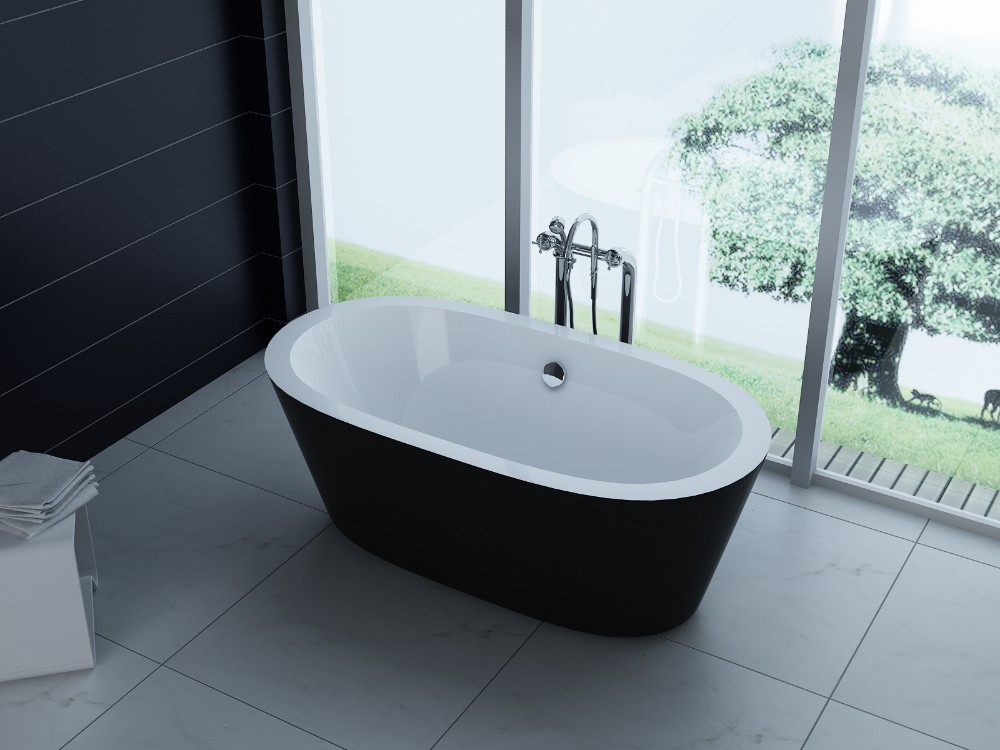 Modern Resin Tin Bath Tub,Solid Surface Japanese Freestanding ...