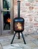 Garden chiminea patio fire pit ,outdoor chiminea patio