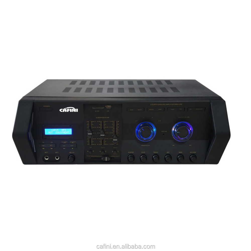 High Power Professional electrical 1200 watt amplifier for pa system