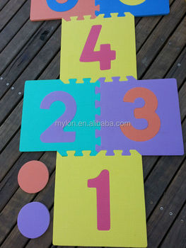 9pc Interlocking Soft Eva Foam Kids Baby Activity Playmat
