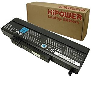 Hipower 9-CELL Laptop Battery For Gateway SQU-716, SQU-720, W35078LD, W35078LD-SP, M-150, M-1400, M-1600, M-6800, P-170, P-6300, T-1600, T-6800 Laptop Notebook Computers