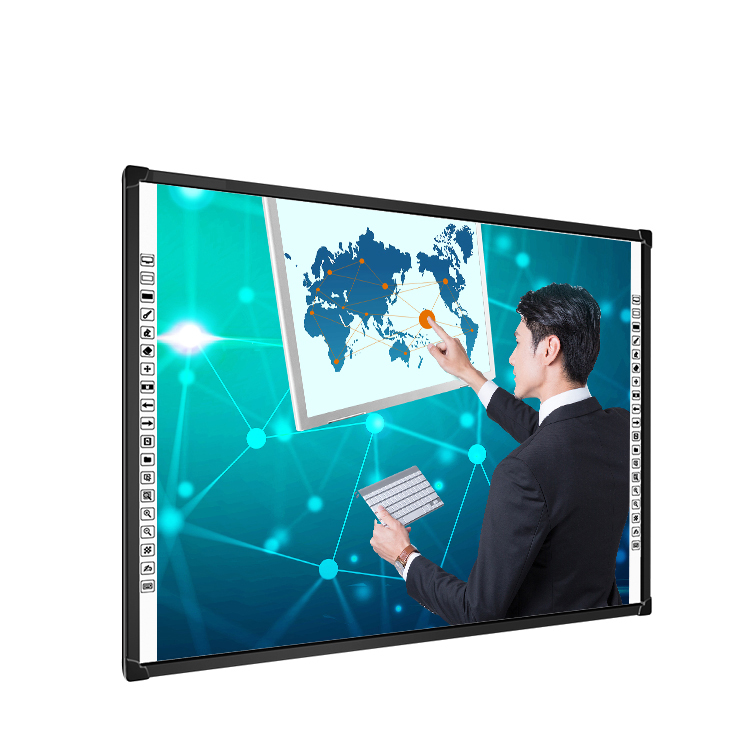 82&quot; Multimedia teaching 10 point touch smart infrared interactive white <strong>board</strong>