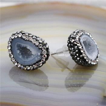Ch-zse0307 Turkish Pave Crystal Stone Stud Jewelry Earring 75ba3b2d57ba