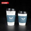 new products cheap China supplier hot drink kraft paper or white card paper cups sleeve paper coffee sleeve