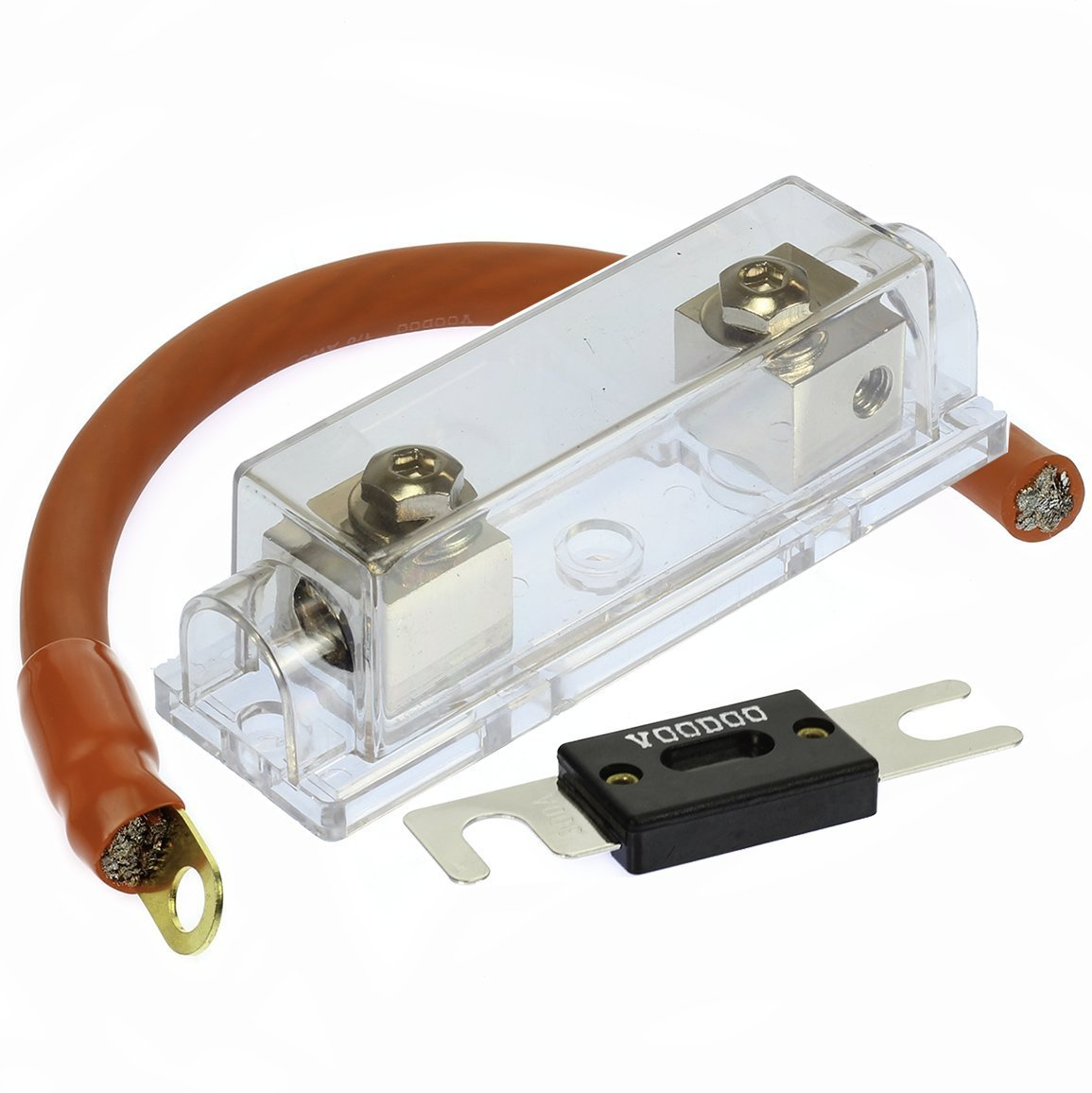 Cheap Inline Fuseholder Find Deals On Line At 0 Gauge Wiring Kit Get Quotations Voodoo 1 200 Amp Anl Fuse Battery Install