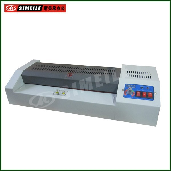 Infrared heating hot cold 320 laminating machine