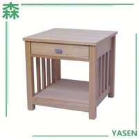 Yasen Houseware European Style Small Bedside Table With Drawer Bedroom Furniture